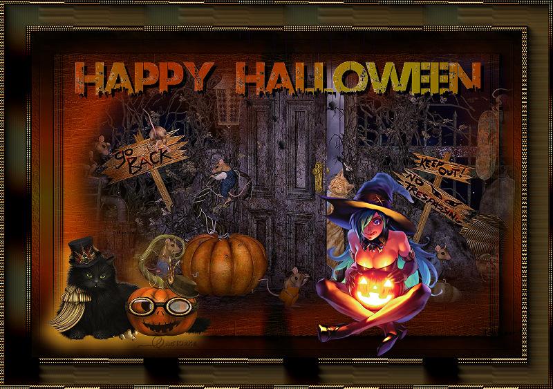 Halloween Werkjes.Halloween Les13 Uw Werkjes