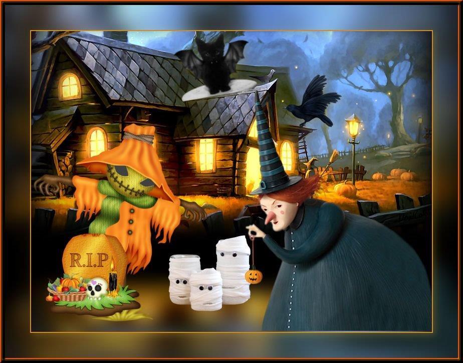 Halloween Werkjes.Halloween Les9 Uw Werkjes