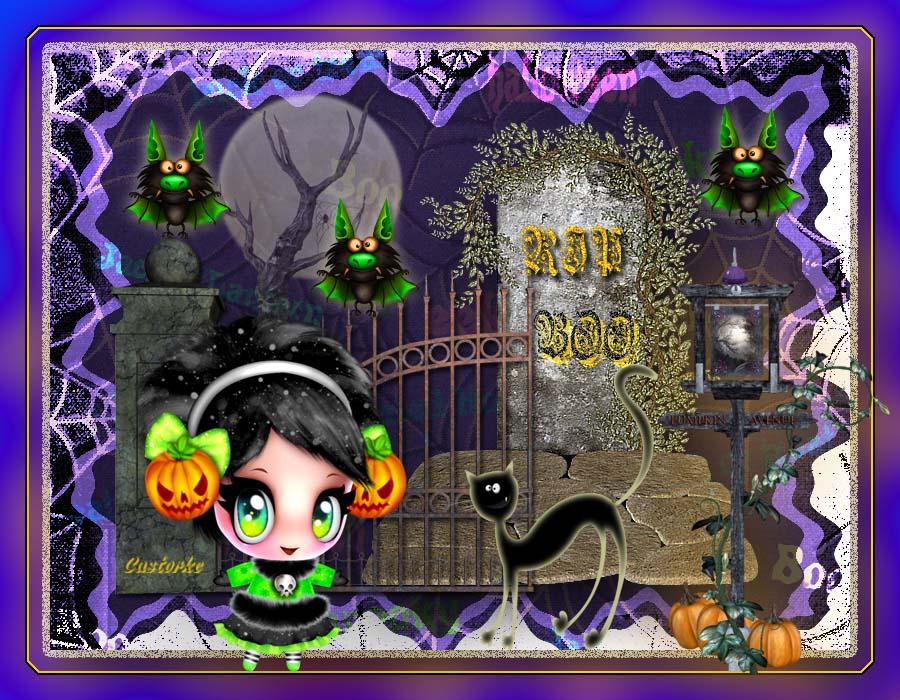 Halloween Werkjes.Halloween Lesjes Photoshop
